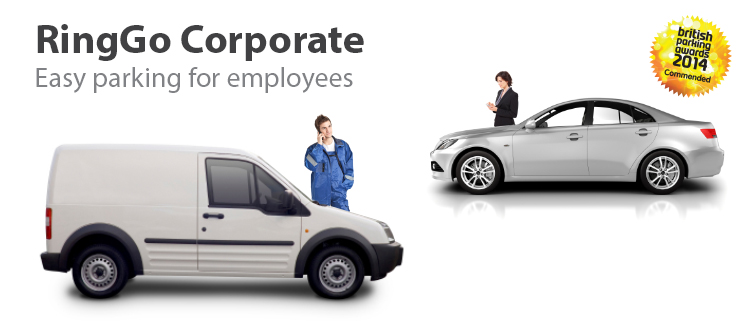 RingGo Corporate: Easy parking for employees