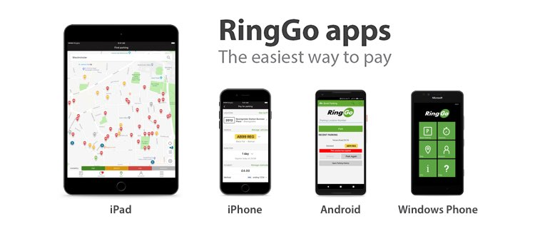 Free RingGo Apps halve the time it takes to pay